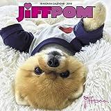 2018 JiffPom Pomeranian Wall Calendar {jg} Great Holiday Gift Ideas - for mom, dad, sister, brother, grandparents, gay, lgbtq, grandchildren, grandma.
