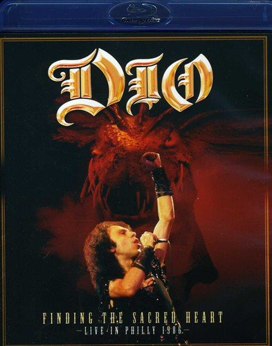 Blu-ray : Dio - Finding the Sacred Heart - Live in Philly 86 (Blu-ray)