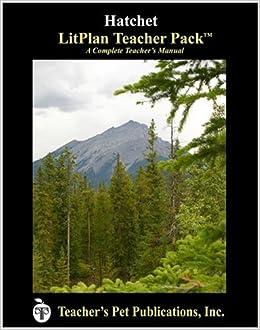 Amazon.com: Hatchet LitPlan - A Novel Unit Teacher Guide With ...