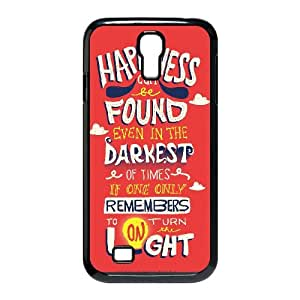 Harry Potter quotes Samsung Galaxy S4 9500 Cell Phone Case Black G7667082