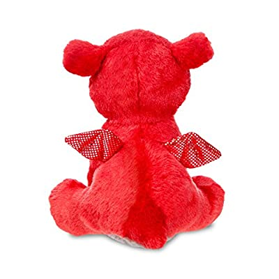 Aurora, 60862, Sparkle Tales, Flame Dragon,7In, Soft Toy, Red, 7-Inch: Toys & Games