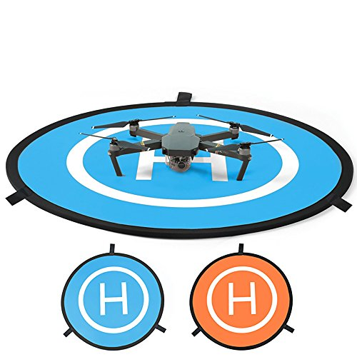 PGYTECH Drones Landing Pad, Drone Quadcopter Landing Gear Accessories Soft Hobby 75CM/30inch Waterproof RC Aircraft Surface Compatible with DJI Mavic 2/Mavic Pro/Mavic Air/Phantom 2/3/4/Pro