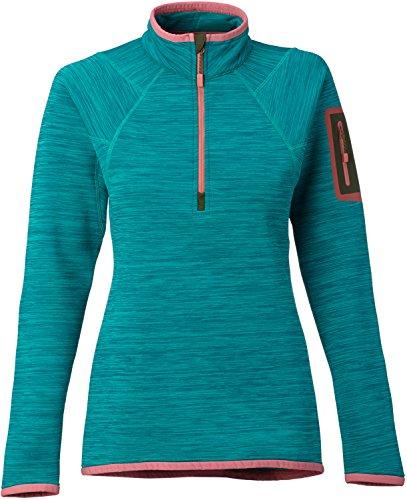 Burton AK Turbine 1/2 Zip Fleece Womens Sz - Jacket Burton Lightweight Fleece Ak