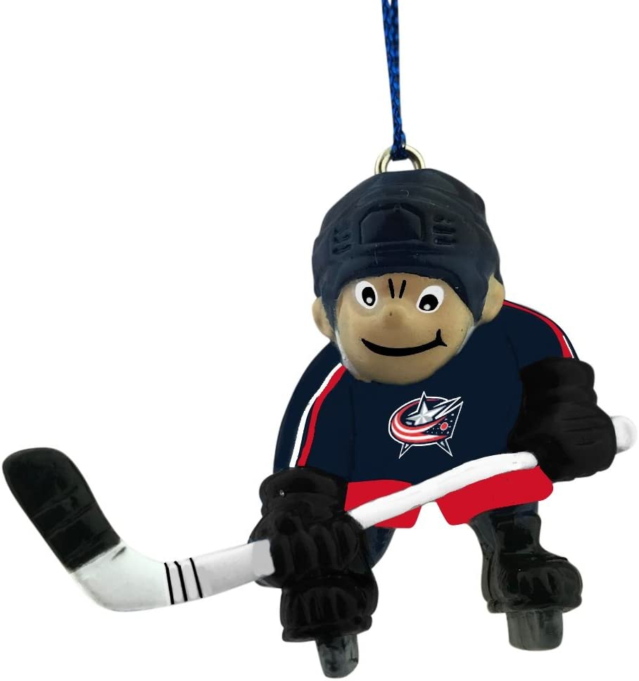 Columbus Blue Jackets Player Christmas Ornament