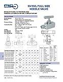 PIC Gauge NV-CS-1/2-HS-180-MXF Carbon Steel