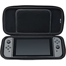 HORI Tough Pouch (Black) for Nintendo Switch Officially Licensed by Nintendo - Wii