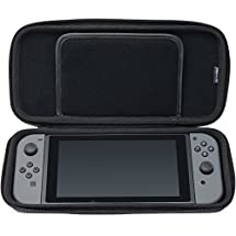 HORI Tough Pouch (Black) for Nintendo Switch Officially Licensed by Nintendo