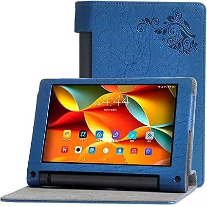 Amazon.com: Deole TM Yoga Tab 3 8 inch Flower print case For ...