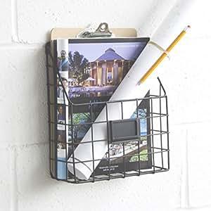 Amazon Mesh Wire Wall Mount Hanging File Folder Mail