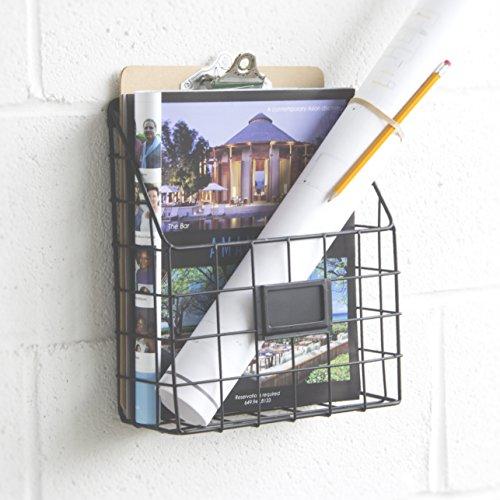 Mesh Wire Wall Mount Hanging File Folder Mail Organizer