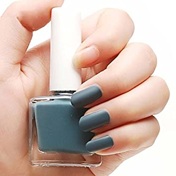 Amazon Com Bgirl Women Girl Matte Nail Polish Nail Art 12ml 1pcs