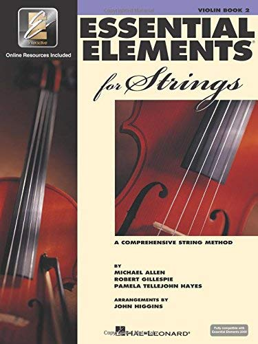 Essential Elements 2003 Book - Essential Elements 2000 Violin Book 2 Bk/CD [Paperback] [2003] Various