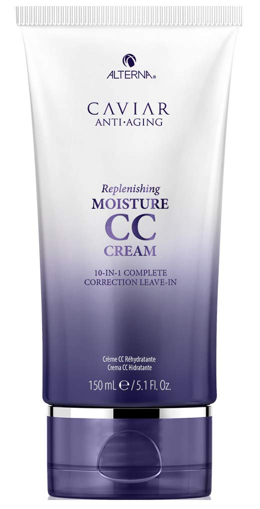 Alterna Caviar Anti-Aging Replenishing Moisture CC Cream | Leave-In Hair Treatment & Styling Cream | 10-in-1 Complete Correction | Sulfate Free