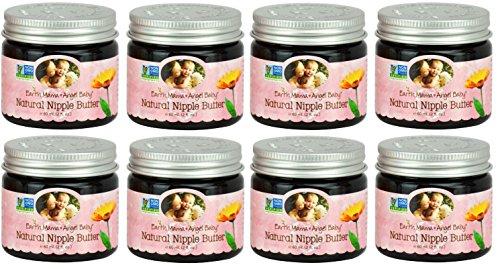 Bulk Saver Pack 8x2 OZ : Earth Mama Angel Baby Natural Nipple Butter by Earth Mama Angel Baby