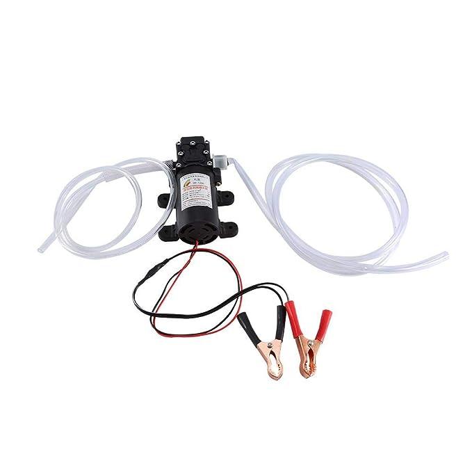 Bomba extractora de aceite eléctrica, 12 V, 60 W, dispositivo de drenaje de aceite para coche, bomba de succión de aceite, extractor de líquido, ...
