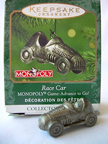 Hallmark Keepsake Ornament - Monopoly Race Car (MINIATURE ORNAMENT) 2001 (QXM5292)