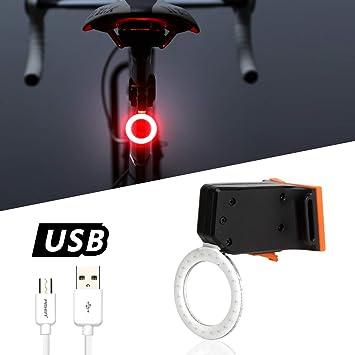 azamp Luz Trasera de Bicicleta,Luz Trasera de Bicicleta ...
