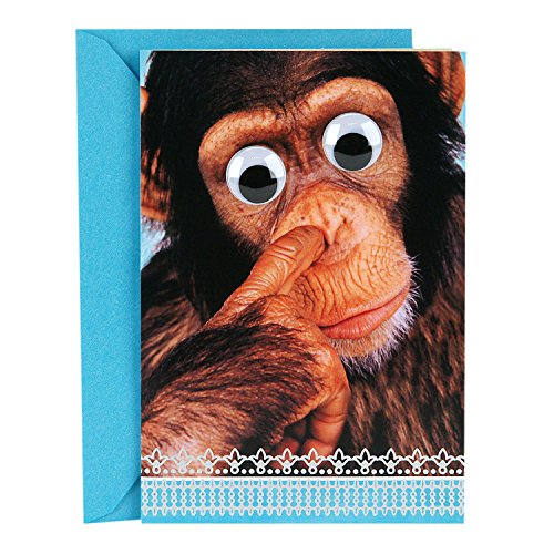 Hallmark Funny Father's Day Greeting Card (Snot Monkey Humor)