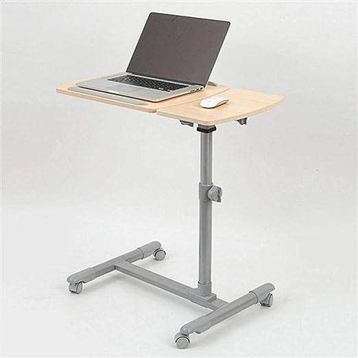 De Pie Neumático Levantamiento Móvil Mesa Para Laptop Coche De ...