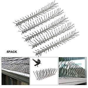 Amazon.com: Tiras de clavos para pájaros de Hamkaw, paquete ...