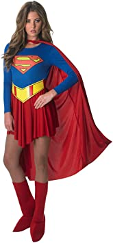 Rubbies - Disfraz de Superwoman para mujer, talla UK 8 - 10 ...