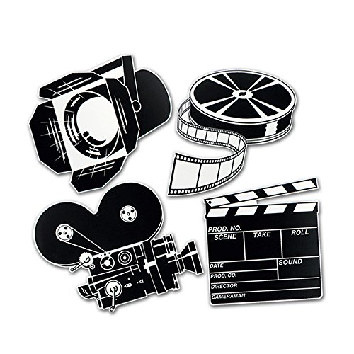 Movie Cutouts Party Accessory count