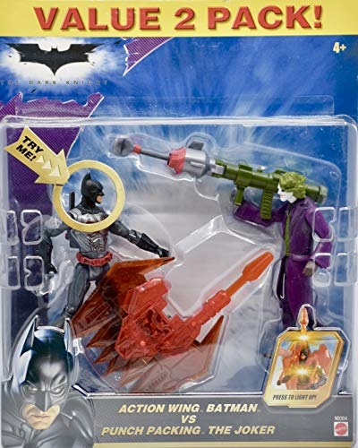 Punch Wings - The Dark Knight - 2008 - Action Wing Batman Vs Punch Packing The Joker - Valu...