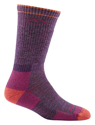 Hiker Boot Sock Cushion, Plum Heather, Medium