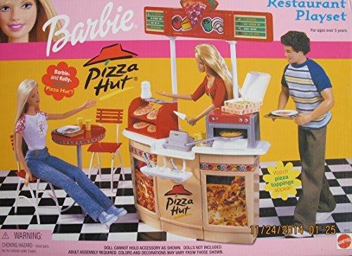 (Barbie Pizza HUT Restaurant Playset (2001))