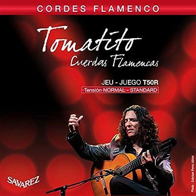 Savarez T50R Nylon Classical Guitar Strings, Normal Tension by Cordoba Music Group