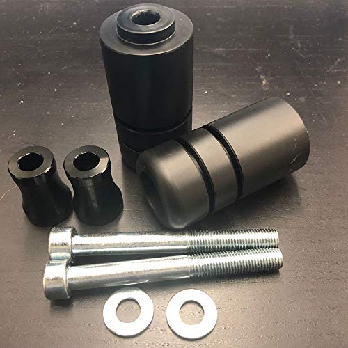 (TTX-LIGHTING Black Frame Sliders Crash Protector FIT FOR Yamaha FZ6 2004-2008)