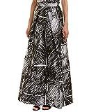 MILLY Womens Clarisa Maxi Skirt, 2, Black