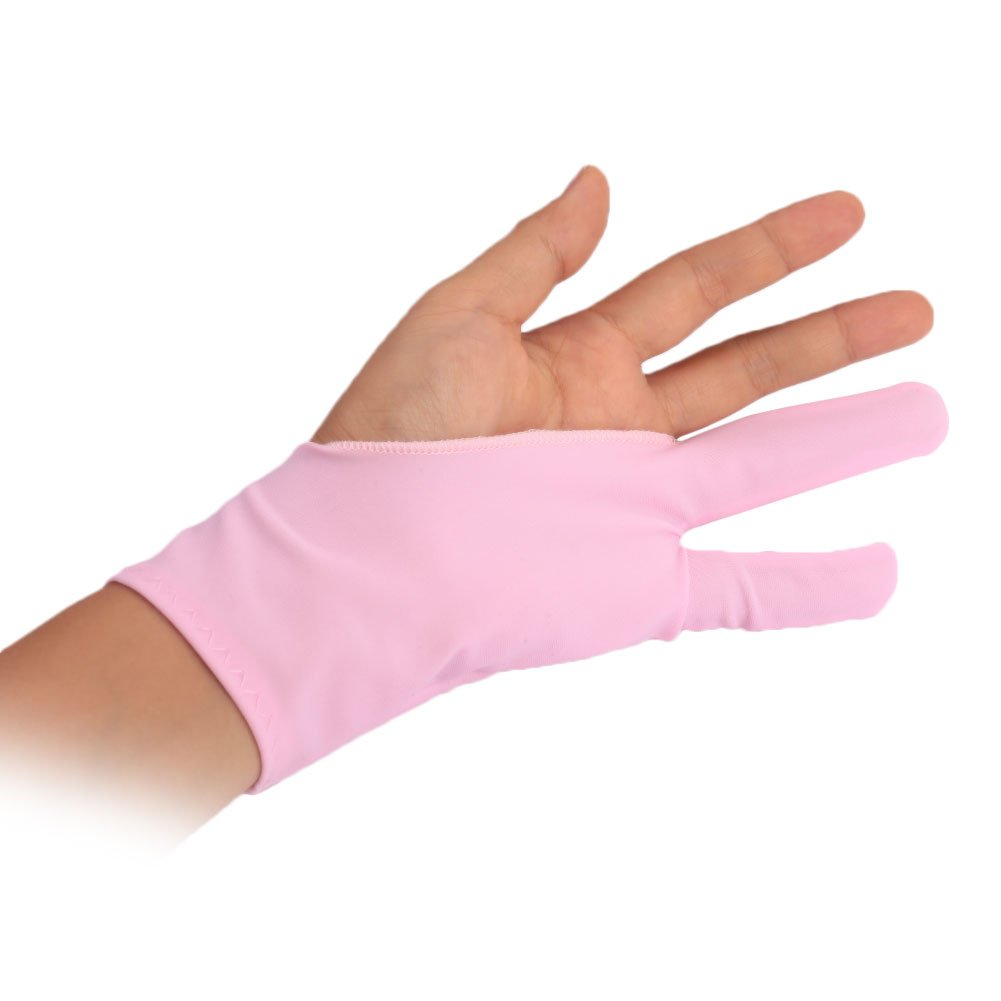 Beautyrain Cloth Two Finger MITTS Oil Paintings Anti Fouling Stain Repellent Gloves Single