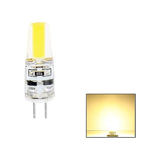 GEZICHTA G4 - Bombillas LED de bajo Consumo (Blanco cálido, 6 W, 12