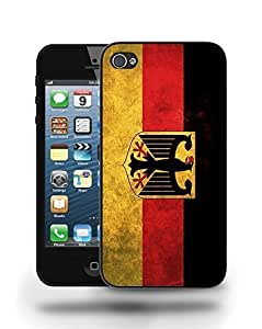Germany National Vintage Flag Phone Case Cover Designs for iPhone 5
