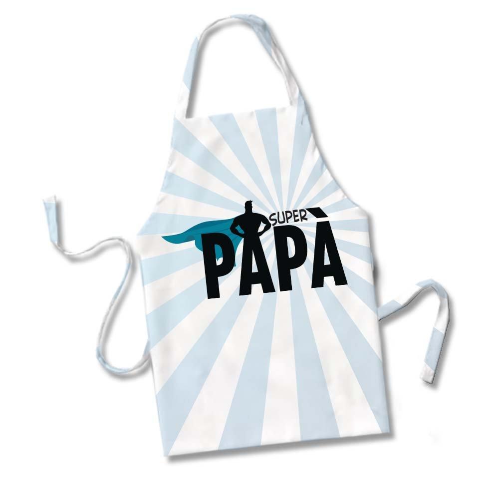 Delantal Idea regalo para el Papa Superpapa