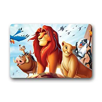 Lion King Movie Custom Rectangle Entryways Non Slip Indoor/Outdoor Doormat Floor Mat(23.6X15.7)