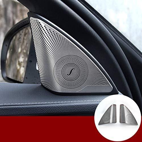 Hotrimworld Für C Klasse W205 S205 Innenraum Autotür Audio Lautsprecher Rahmen Verkleidung Abdeckung 2 Stück 2014 2019 Auto
