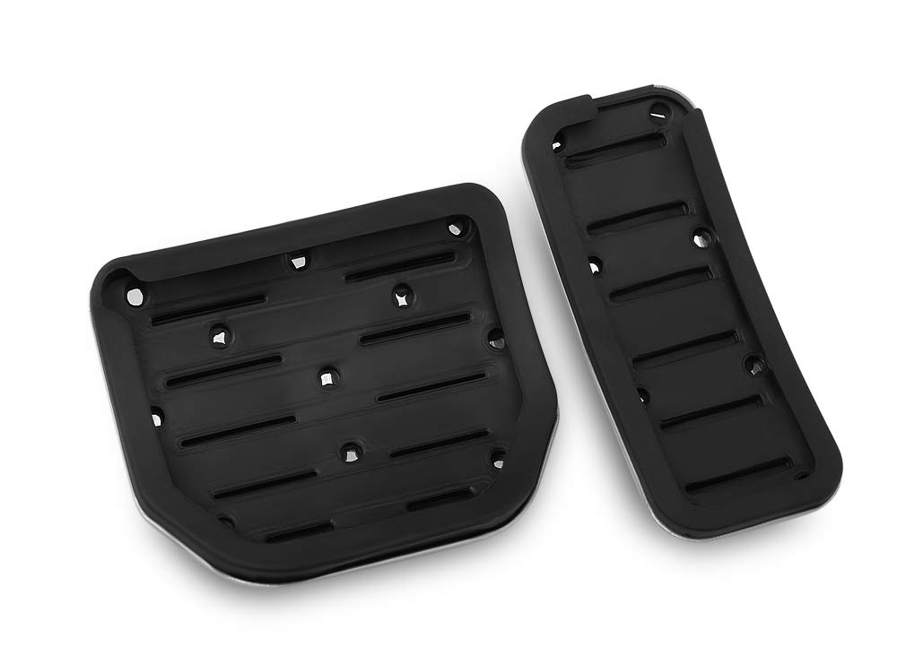 RaxTDM Seven Sparta Gas Brake Pedal Covers for Land Rover Range Rover Sport Discovery 3 4 LR3 LR4 Pedal at Non-Slip Replacement Brake Pedal Pad