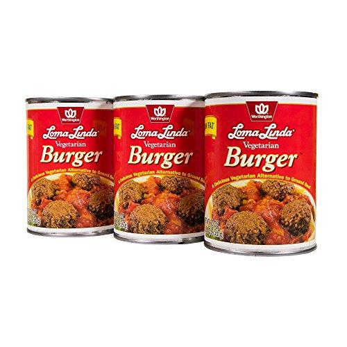Vegetarian Burger (Loma Linda - Vegetarian - Vegetarian Burger (20 oz.) (Pack of 3) - Kosher)