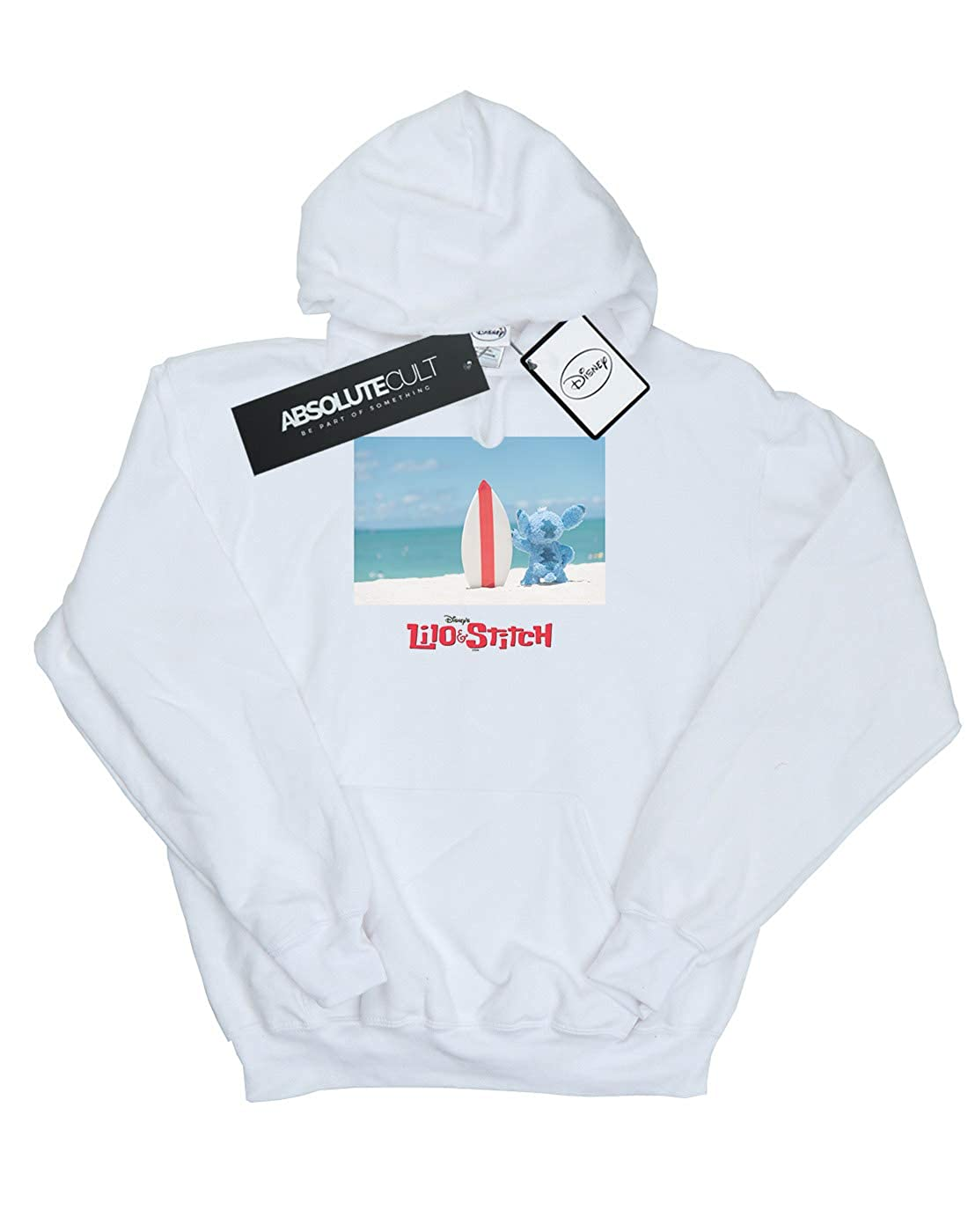 b7579728f8 Amazon.com: Disney Girls Lilo & Stitch Surf Beach Hoodie: Clothing