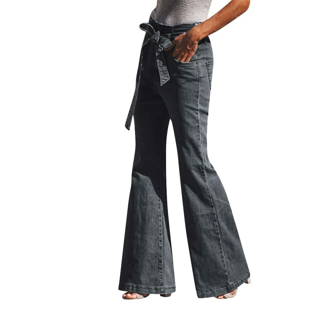 Women's Wide Leg Capri Pants Cotton Cropped Palazzo Trousers Culottes Gray