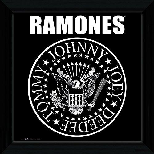 GB Eye Ltd, The Ramones, Seal, Foto incorniciata, 30 x 30 cm PFN064