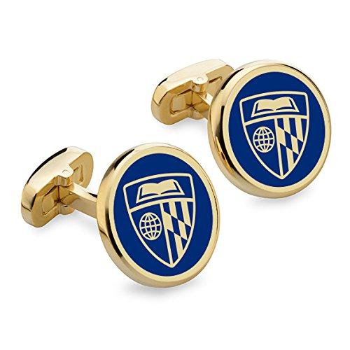 NCAA Johns Hopkins Blue Jays M.LaHart Enamel Cufflinks