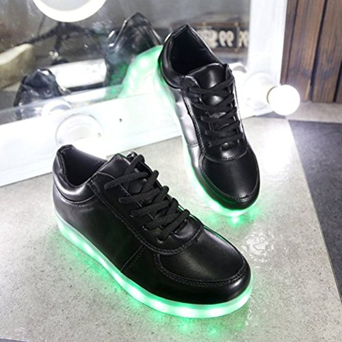 [+Kleines Handtuch]Kinderschuhe USB Lade Licht Jungen emittierende Schuhmädchenschuh leuchtende LED beleuchtete Sportschuhe großer Junge Sc c13