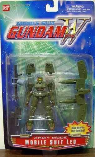 Wing Gundam Mobile Suit Leo Army - Shop Army Ban