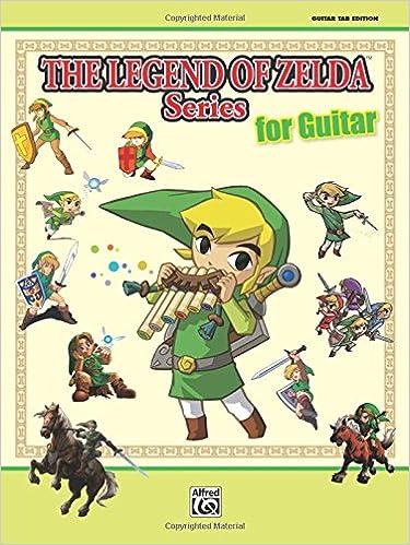 Amazon.com: The Legend of Zelda Series for Guitar: Guitar Tab ...