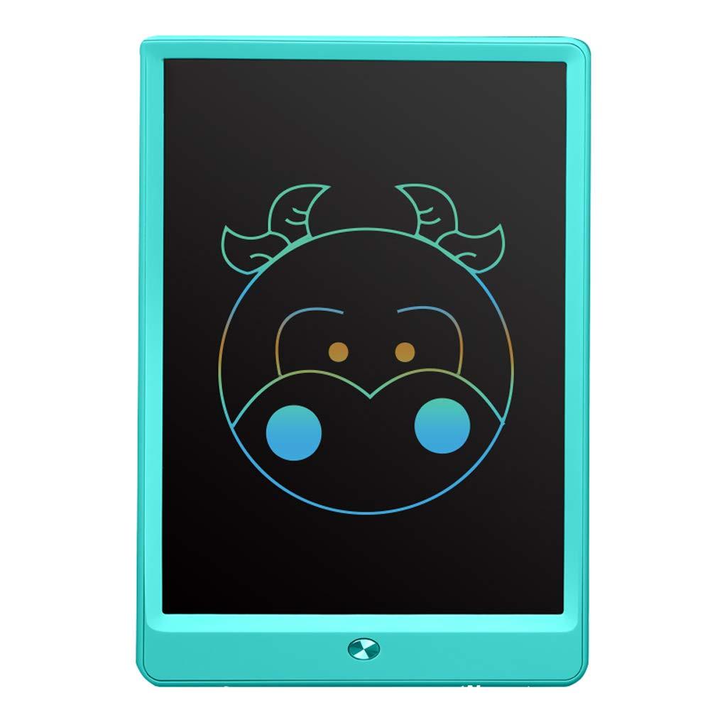azul ETSXB Tableta de Escritura con PanTalla LCD, Tableta de Dibujo portátil de Almohadilla de Escritura a Mano de 10 Pulgadas con Bloqueo de Memoria Adecuado para niños Escuela en el hogar 2517.50.7cm