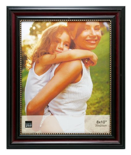 Kiera Grace Lucy Picture Frame, 8 by 10-Inch, Dark Brown