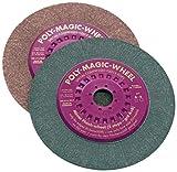 step up step 2 cs - CS Unitec 96721 Poly-Magic-Wheel Dry Polishing Abrasive Disc, 6-1/2 Diameter, 7/8 Arbor, B/900 Grit (Pack of 5)
